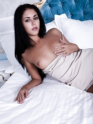 SexArt  Macy B  Erotic, Softcore, Panty, Seduce, Pussy, Brunettes, Boobs, Breasts, Tits, Petite