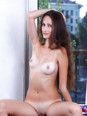 Amour Angels  Chloe  Solo, Teens, Beautiful, Blue eyes, Brunettes, Pussy