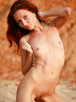 avErotica  Kesy  Naughty, Red Heads, Amateur, Solo, Erotic, Beach, Teens