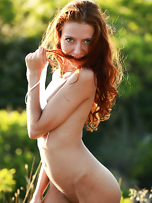 avErotica  Kesy  Amateur, Red Heads, Curly, Petite, Erotic, Outdoor, Teens, Striptease, Solo